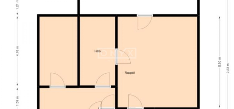 Eladó lakás, Budapest, Topánka utca, alaprajz